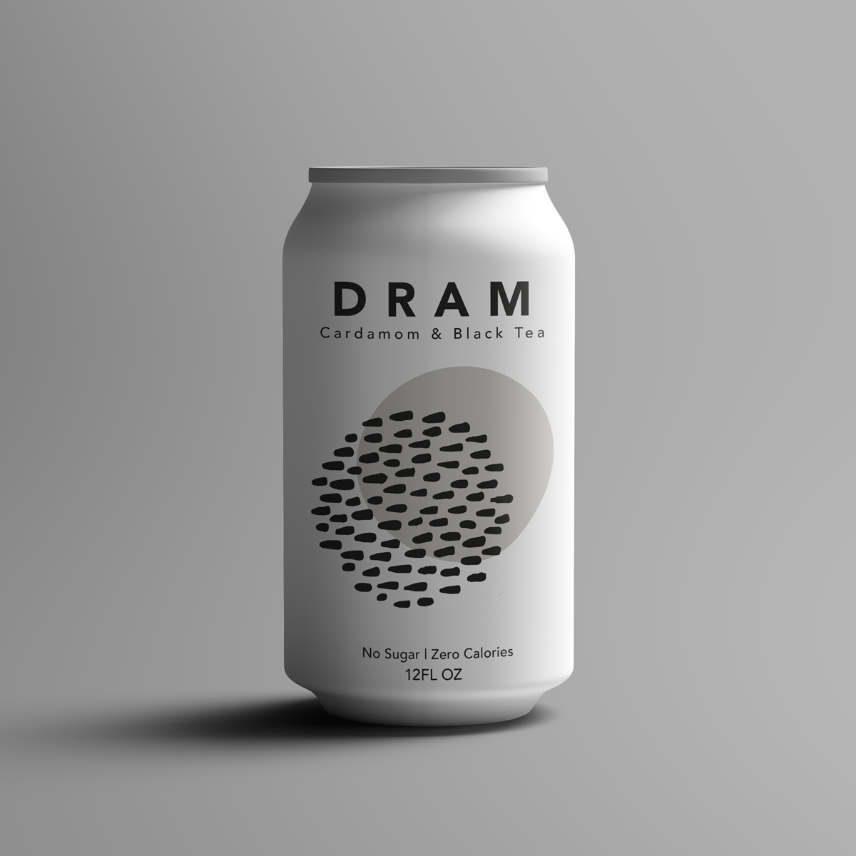 DRAM Black All Natural Sparkling Water